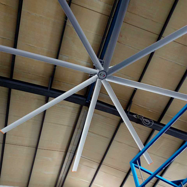 4900mm 16 Foot Ceiling Fan , HVLS Large Indoor Ceiling Fans For Public Space